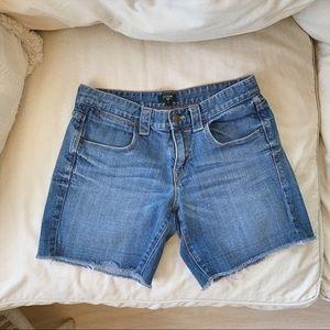 J. Crew Classic Wash Denim Shorts
